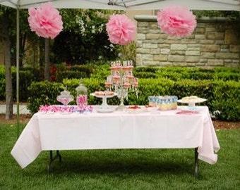 3 x 20 inch pom poms / party poms / wedding pom poms / birthday flower ball /custom pom poms / tissue paper pom poms / flower tissue paper /