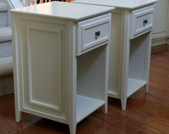 Pair of OPEN Night/End Tables