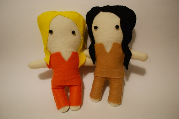 Orange is the New Black - Pipex Plushie Set