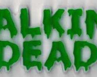 Walking Dead Fridge Magnet