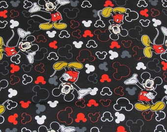 Per Yard, Disney Mickey Mouse and Icon Fabric