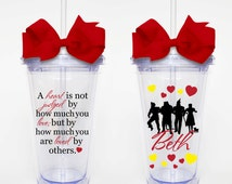 Wizard of Oz Quote- Acrylic Tumbler Personalized Cup