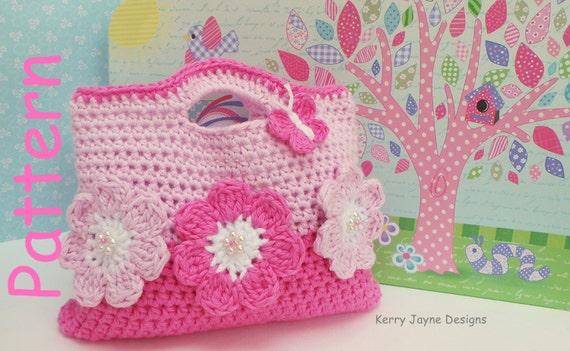 Crochet Clutch Bag Pattern : CROCHET Bag Pattern By KerryJayneDesigns by KerryJayneDesigns