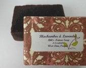 olive oil milk Black Amber And Lavender fragrance natural soap