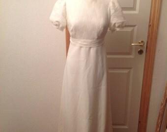 Vintage wedding dress from Denmark