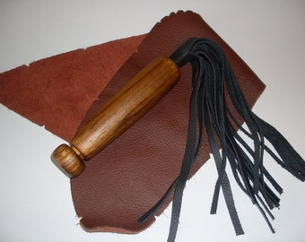 BDSM / Leather whip flogger
