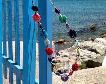 Collana Breva - crochet necklace pattern