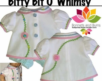 """Bitty Bit O' Whimsy for 15"""" Dolls"""