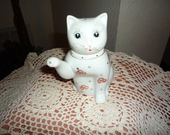 Minature Chinese Porcelain Cat