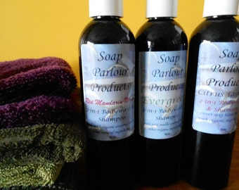 Soap Parlour Products 2-in-1 natural bodywash and shampoo