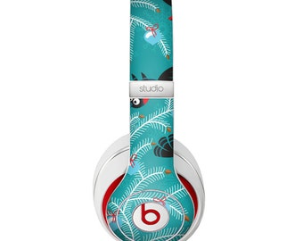The Blue with Flying Tweety Birds Skin for the Beats by Dre Headphones (All Versions Available)