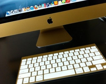 Apple iMac Matte Gold 21.5 or 27 inch Protective Skin
