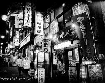 Giclée of Tokyo Night - 13x19