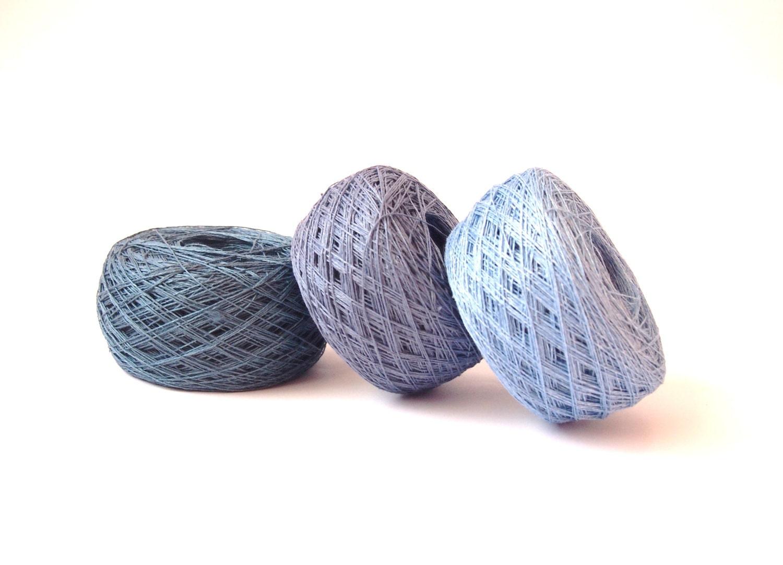 Linen Yarn : Natural Linen Yarn High Quality Linen Yarn For by LinenSpirit