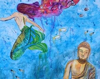 Under Water World Print