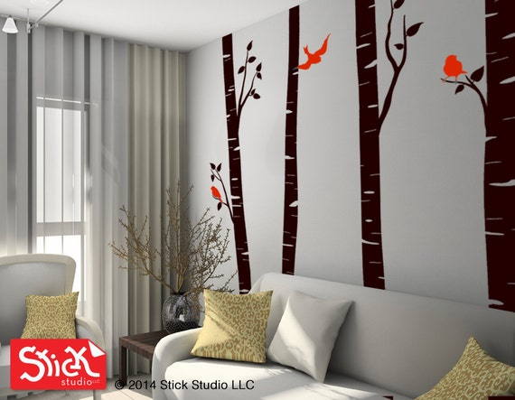 Wall sticker tree decal nursery wall vinyl bedroom decal kids wall