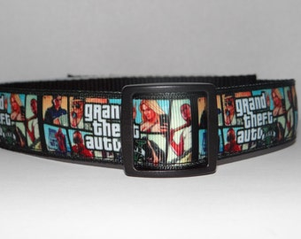 Dog Collar * Video Game * Adjustable Buckle OR Martingale