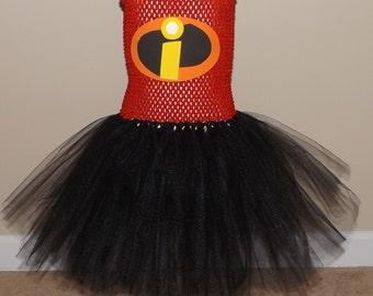 Incredibles inspired tutu costume tutu dress