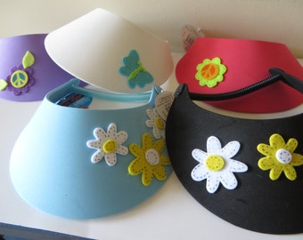 Fun in the Sun -  Foam Sun Visors - party favors, birthdays