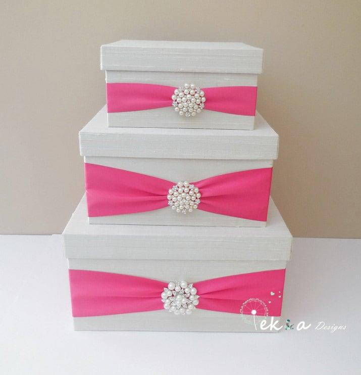Wedding card box / money box / card holder / gift card box / 3