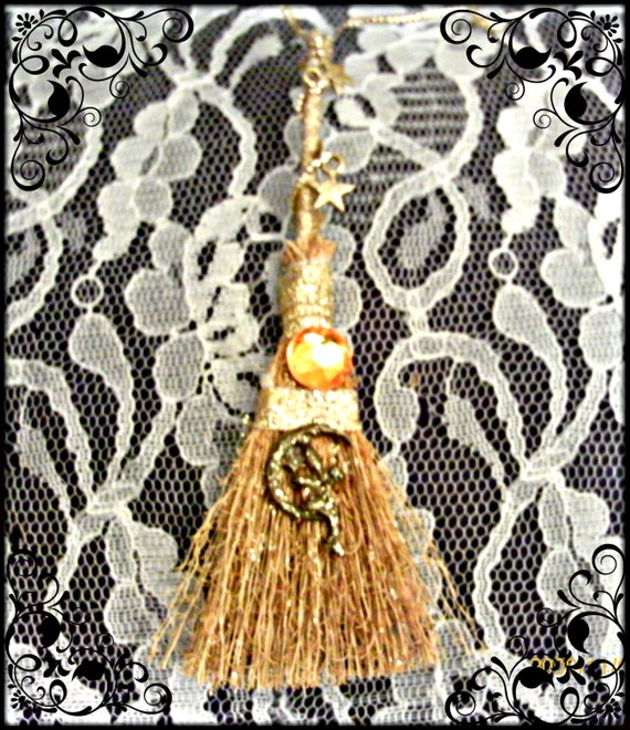 Business Success Fairy Moon Besom