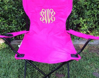 Monogrammed Camping Chair