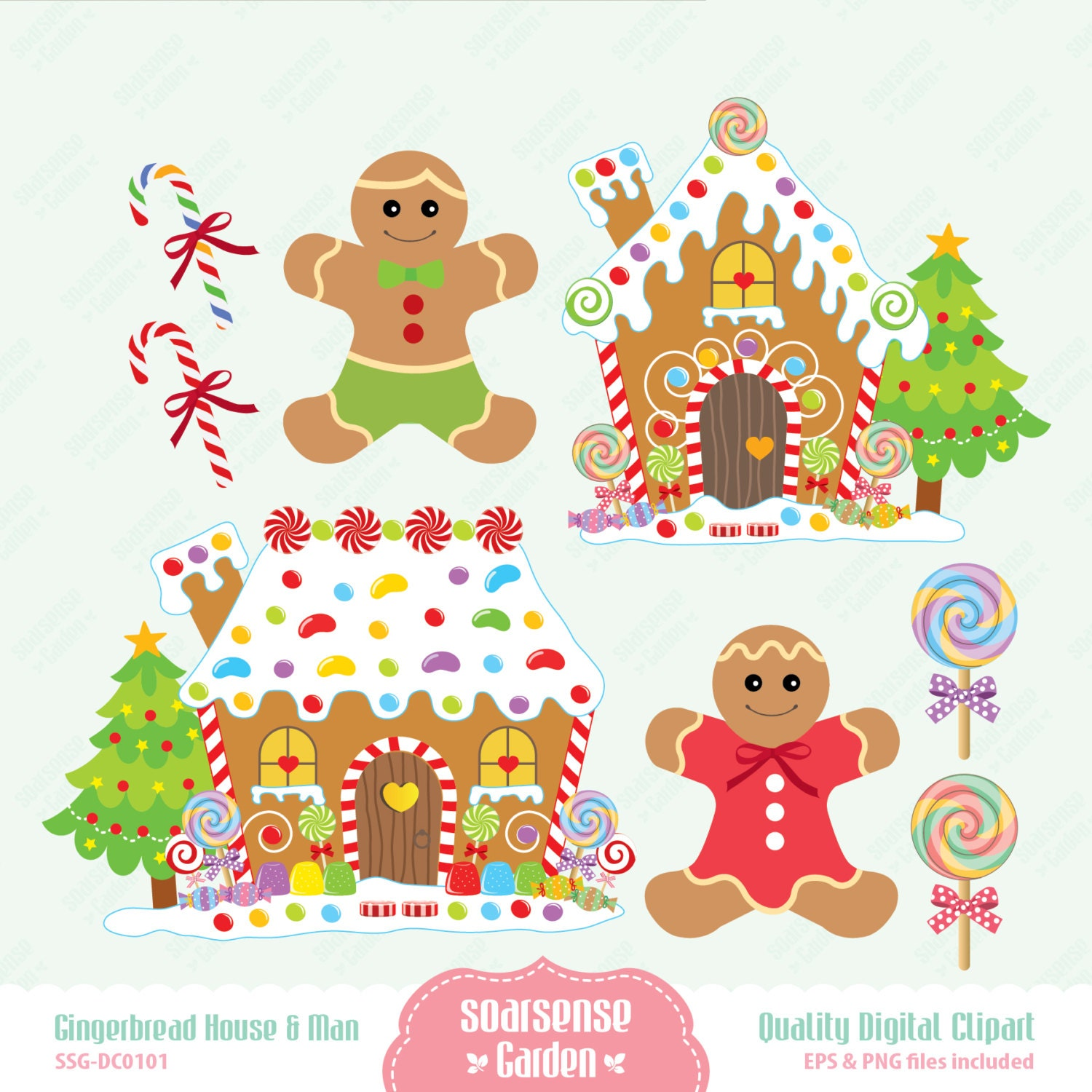 free gingerbread house clipart - photo #25