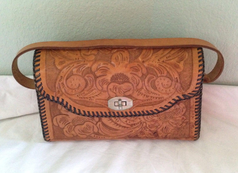 Vintage Hand Tooled Leather 47