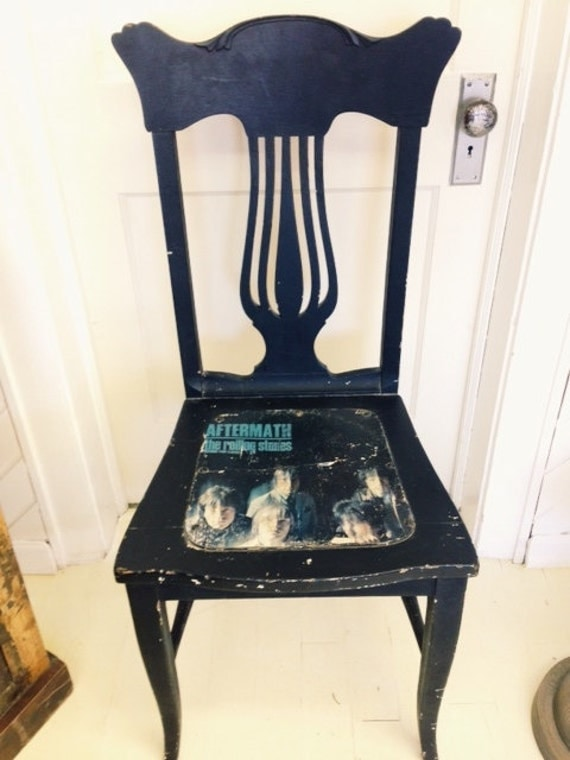 Vintage Rolling Stones Chair