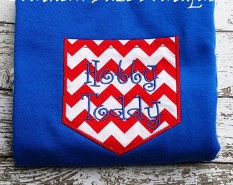Ole Miss Hotty Toddy Pocket Tee