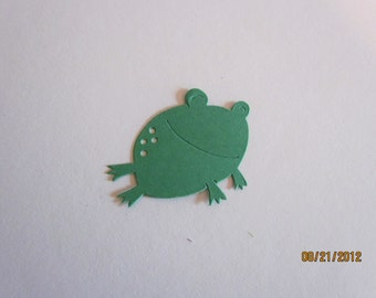 small frog die cuts