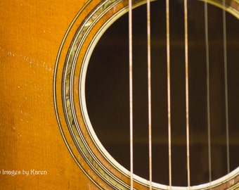 Musical Instrument Photography, Guitar Photography - Fine Art Photography
