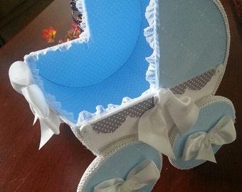 The Kayden baby Carriage Centerpiece / Carriage Centerpiece