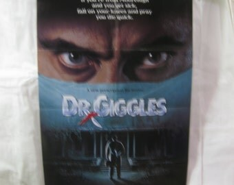 Dr. Giggles 1992 Movie Poster mp139