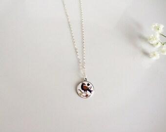 Burdee • Hex charm // dutch hex pendant // sterling silver necklace