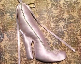 SALE Cinderella's Slipper Ring Bearer Pillow