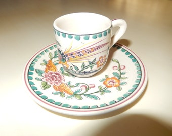 PORTUGAL DEMITASSE CUP and Saucer
