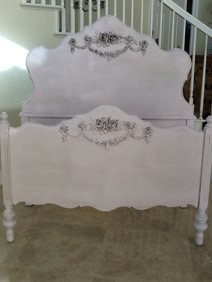 Antique French Provincial Twin Bed