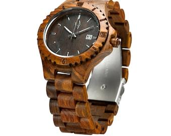 Hoentjen Dutch design, wood watch - Bora Bora (with Seiko movement)