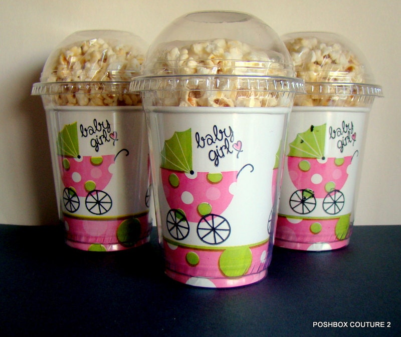 popcorn boxes it 39 s a girl baby shower popcorn boxes