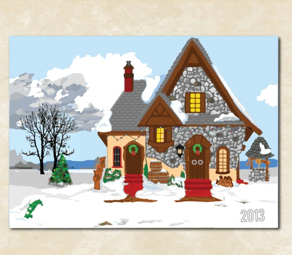 Items similar to christmas cards card funny for Best personalized christmas cards