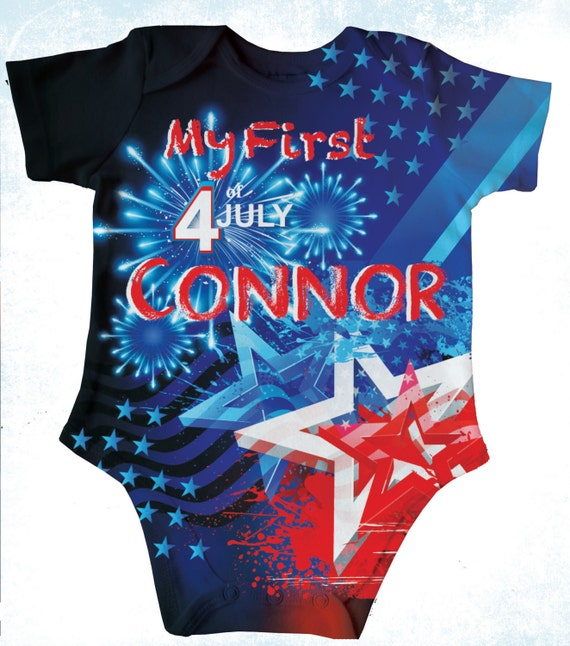 Personalized 4th Of July T Shirt Boys Fireworks Patriotic
