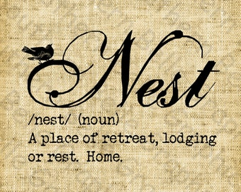 Popular items for Nest definition on Etsy