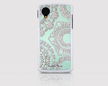 LG Nexus 4 / Nexus 5 Case - Rabbit & Mint (D2118-NX4 / NX5)