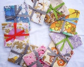 "Vintage and Retro Sheet Charm Square Patchwork/Quilting Pack (42 5"" Squares)"