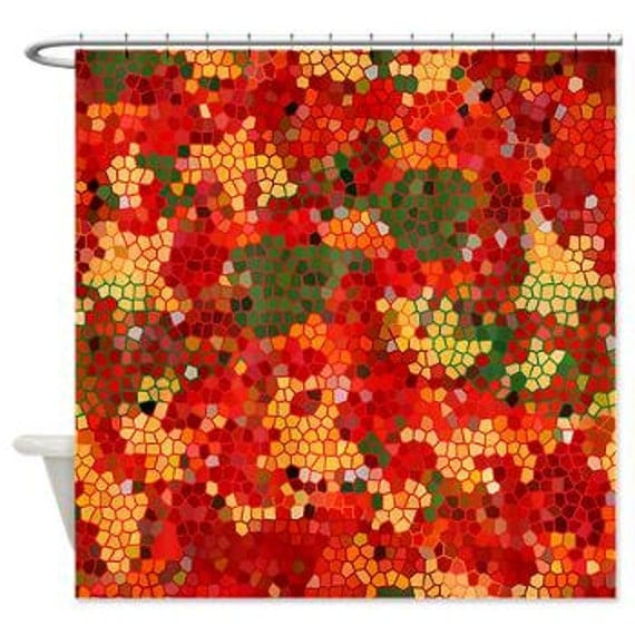 Items Similar To Fall Colors Shower Curtain Jacob 39 S Fall