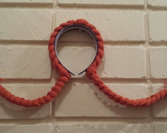 Pippi Longstocking Hair Handmade With Yarn