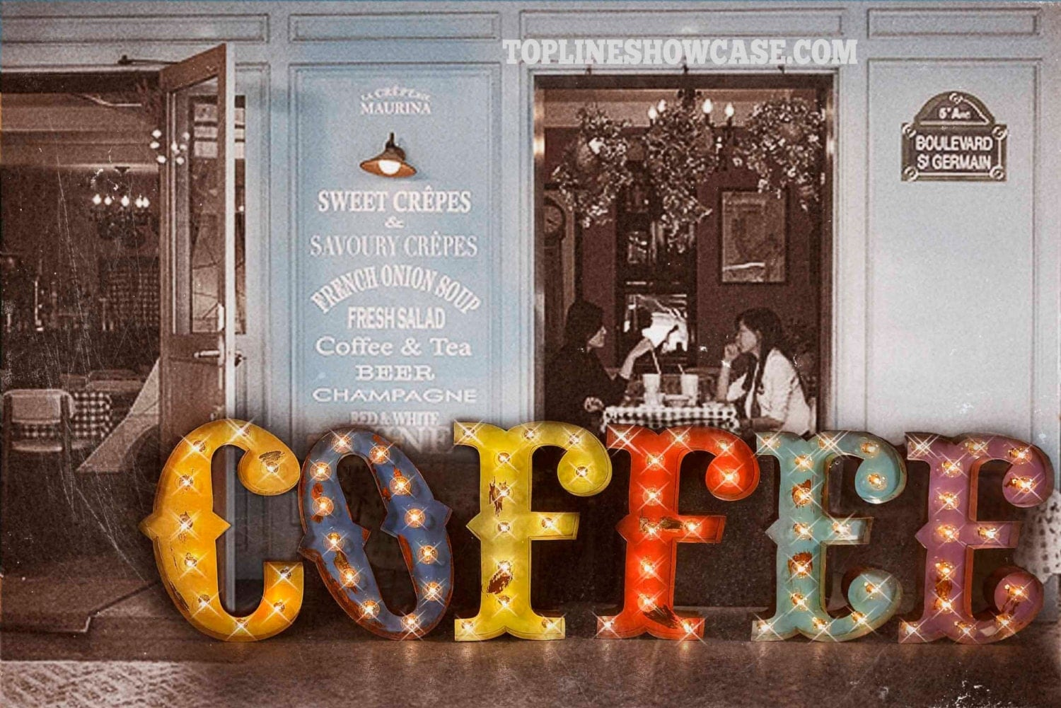 Coffee Marquee Sign marquee light Marquee Letter carnival