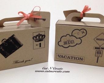 Suitcase Favor Boxes Suitcase Boxes Suitcase Favors