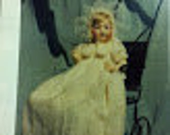 BS-157 Antique Reproduction Doll Dress Pattern
